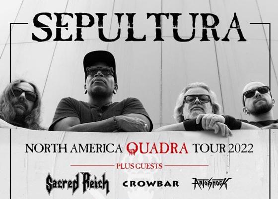 Sepultura Reschedule North American Tour Behind 'Quadra'