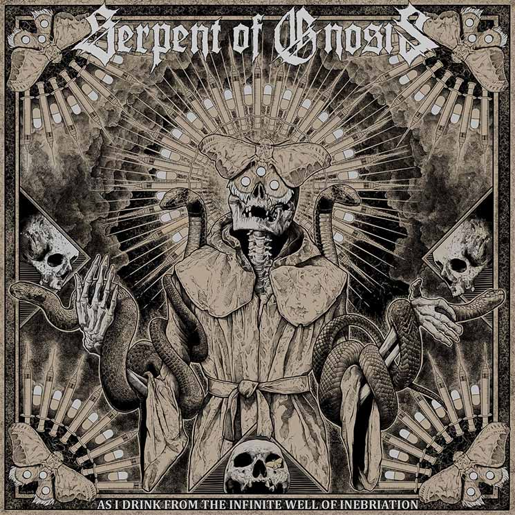 Serpent of Gnosis As I Drink From the Infinite Well of Inebriation