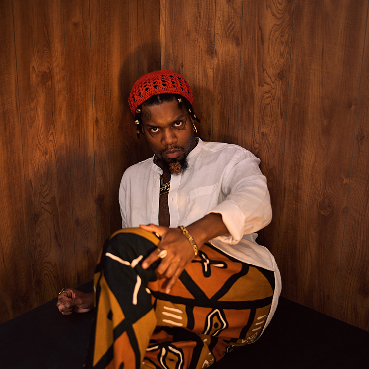 "serpentwithfeet Connects with Ty Dolla $ign for ""Receipts"""