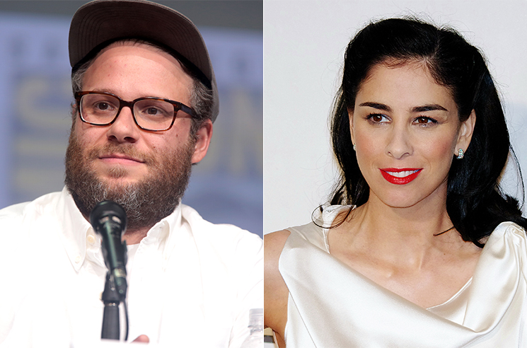 Seth Rogen and Sarah Silverman to Star in New Animated Comedy for HBO Max