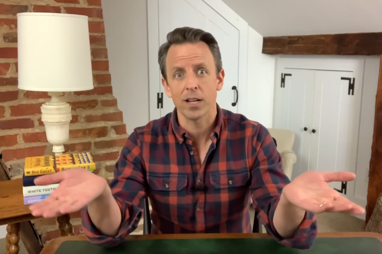 Seth Meyers Calls Out 'Crop-Dusting' Joggers in the Age of COVID-19
