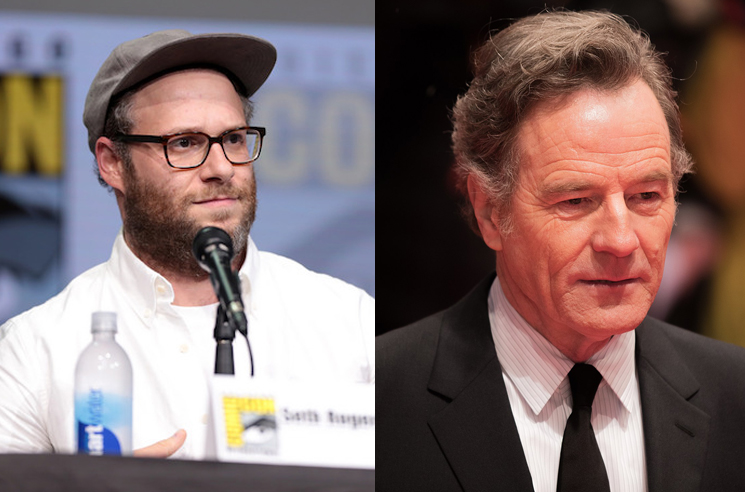 Seth Rogen Recalls Freaking Out Bryan Cranston on Cannabis Edibles