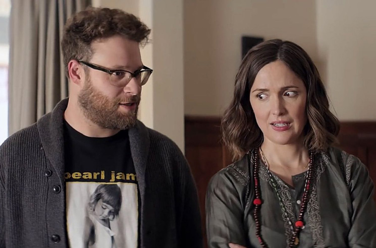 Seth Rogen and Rose Byrne Reunite for New Apple TV+ Series 'Platonic'