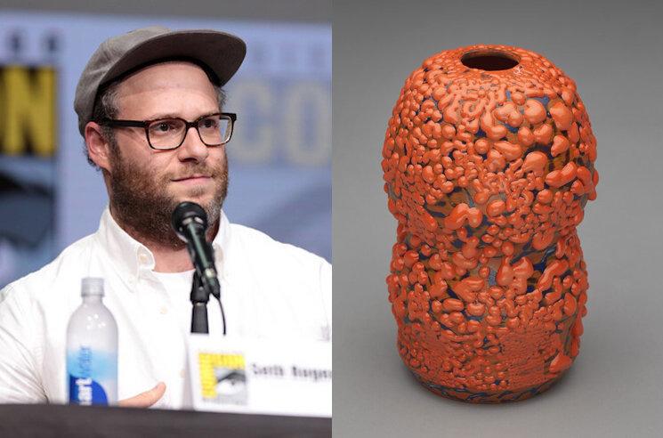 Seth Rogen's Ceramic Vase to Fetch over $5,000 at Auction
