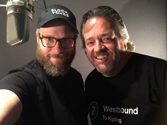 Seth Rogen Is Now the Voice of Toronto's Transit System