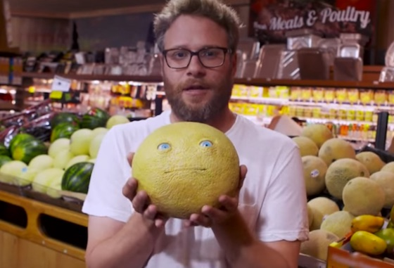 Watch Seth Rogen Prank Grocery Shoppers with Animatronic Food