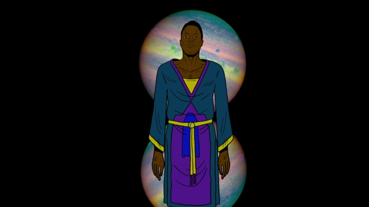 "Shabazz Palaces ""Forerunner Foray"" (video) (dir. by Chad VanGaalen)"