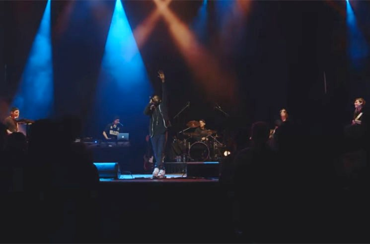 Shad 'Live at Massey Hall' (video)
