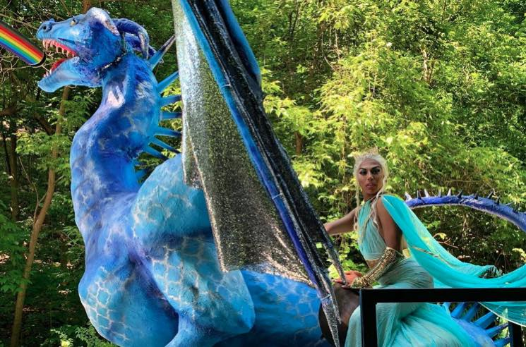 Shangela Slayed Toronto Pride as Daenerys Targaryen