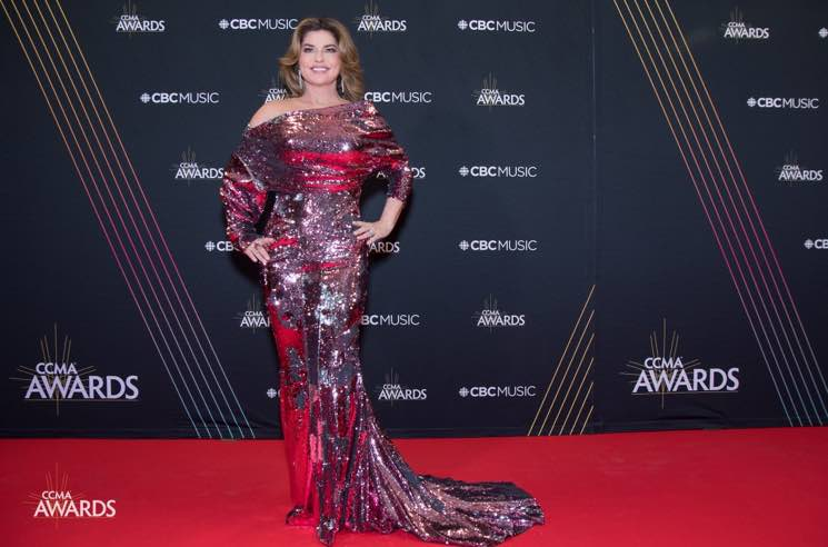 ​Shania Twain Wins Big at Canadian Country Music Awards