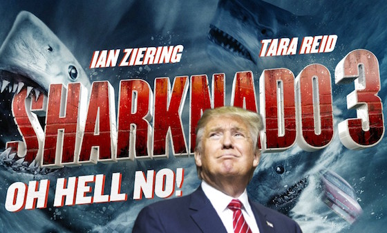 Donald Trump Almost Played the President in 'Sharknado 3'