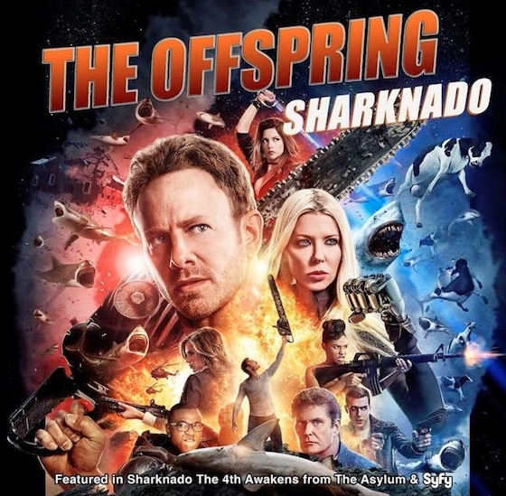 The Offspring Recorded the Theme Song for the New 'Sharknado' Movie