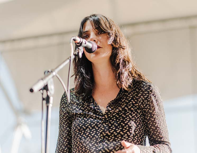 Sharon Van Etten Interstellar Rodeo, Edmonton AB, July 26