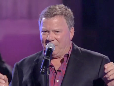 "William Shatner ""Fuck You"" (Cee-Lo cover)"