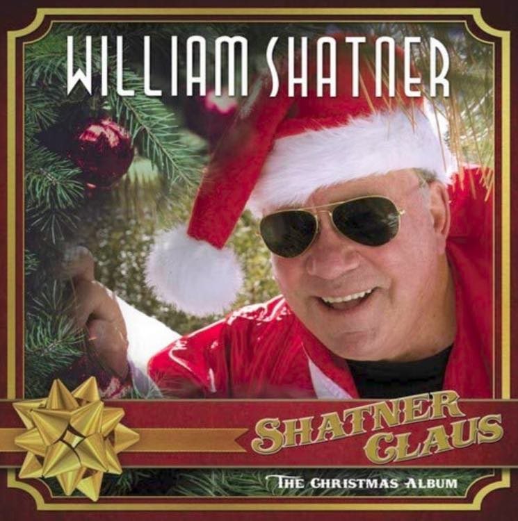 ​William Shatner Announces Christmas LP Featuring Henry Rollins, Brad Paisley, Iggy Pop