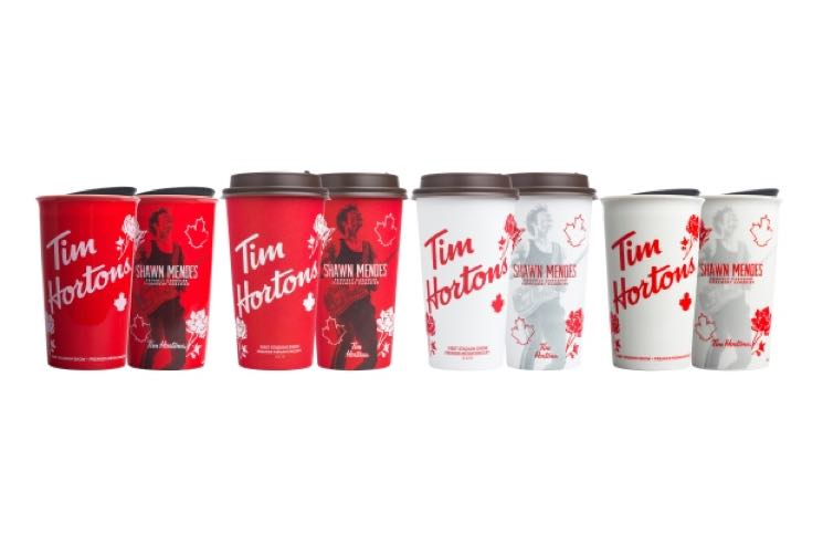 ​Shawn Mendes Is Coming to a Tim Hortons Coffee Cup Near You