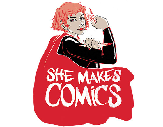She Makes Comics Marissa Stotter