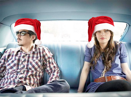 She & Him Detail 'A Very She & Him Christmas'