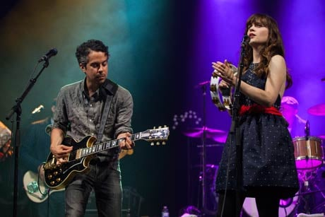She & Him Leave Merge for Columbia Records