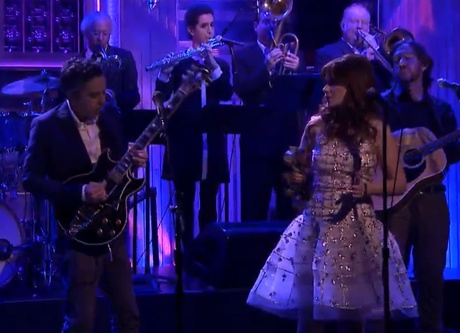 "She & Him ""Stay Awhile"" (live on 'Fallon')"