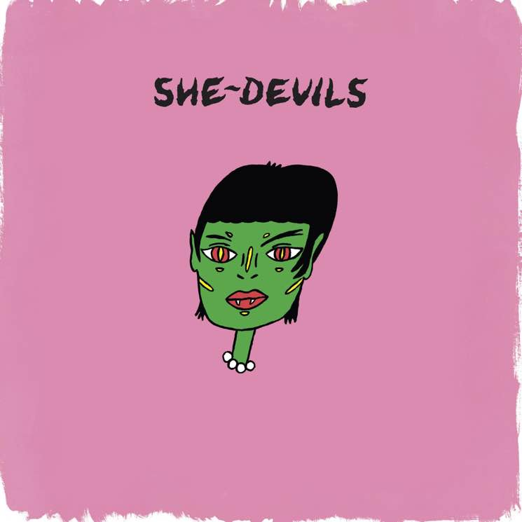 "​She-Devils Reveal Debut Album, Share ""Hey Boy"""