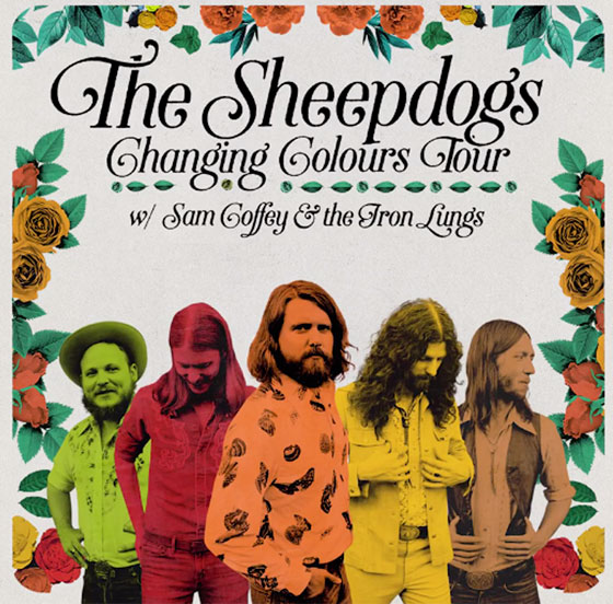 The Sheepdogs Take 'Changing Colours' on Canadian Tour