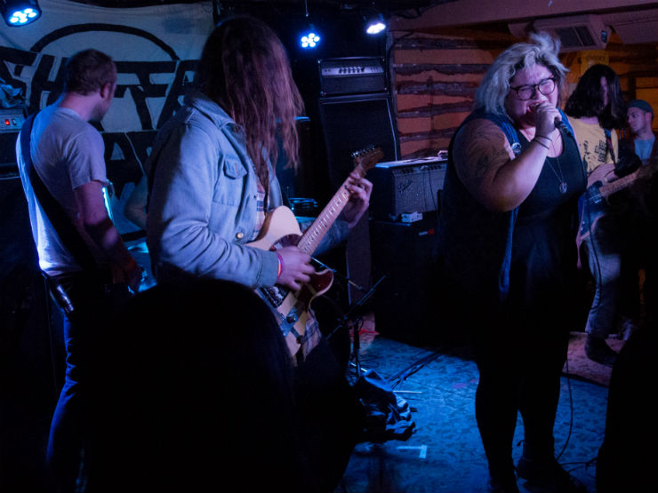 ​Sheer Mag / Glitter The Palomino, Calgary AB, April 7