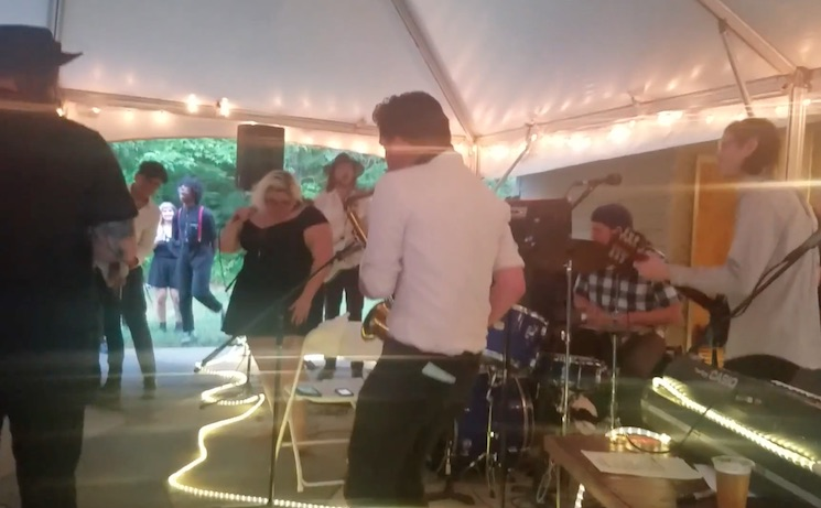 Watch Sheer Mag Cover Shania Twain at a Wedding Reception