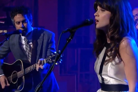 "She & Him ""Never Wanted Your Love"" (live on 'Letterman')"