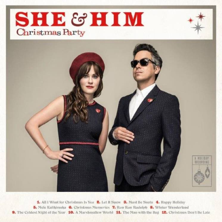 "She & Him ""Happy Holiday"""