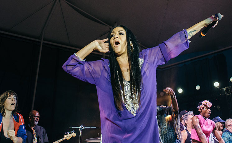 Sheila E. Interstellar Rodeo, Edmonton AB, July 27