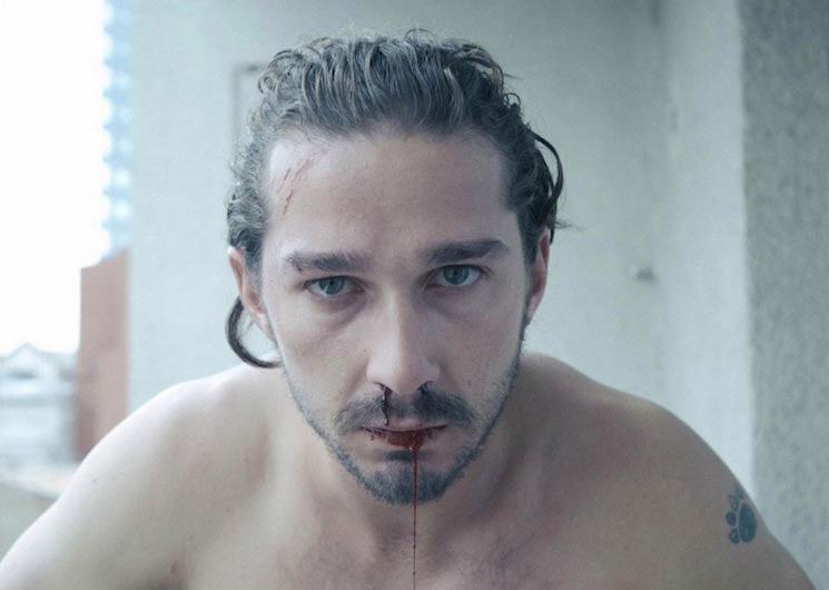 Shia LaBeouf Is Binge-Watching All of His Movies in a Theatre Right Now