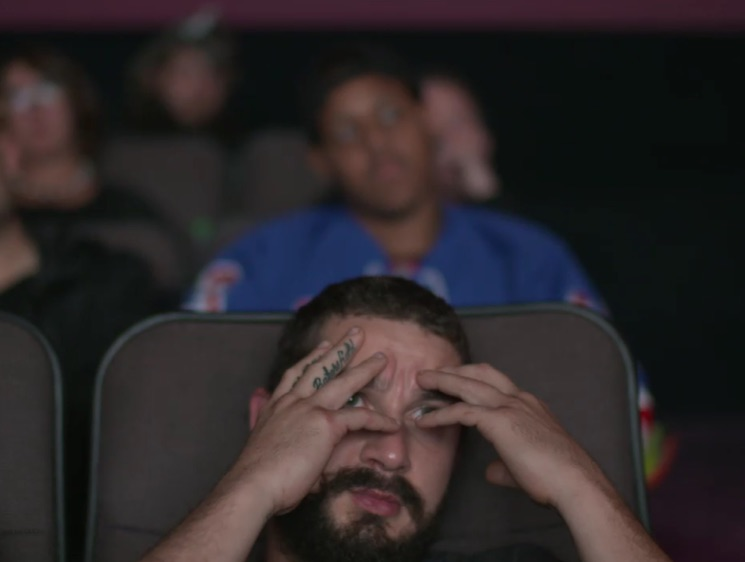 Shia LaBeouf Says #AllMyMovies Art Project Made Him Love Himself