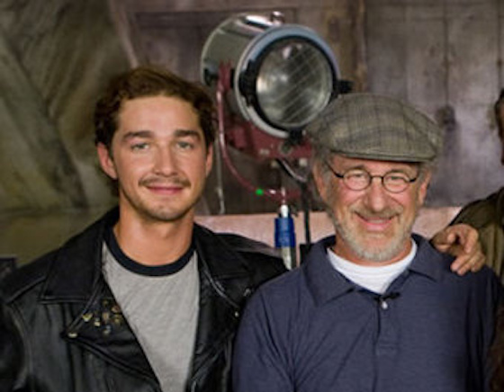 "Shia LaBeouf on Steven Spielberg: ""He's Less a Director Than He Is a Fucking Company"""