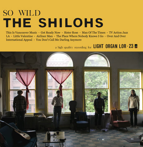 "The Shilohs 'So Wild' (album stream) / ""The Place Where Nobody Knows I Go"" (video)"