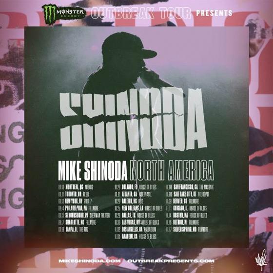 Linkin Park's Mike Shinoda Announces North American Tour