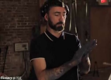 """The Shins """"Clapping Butter"""" (Funny or Die skit)"""