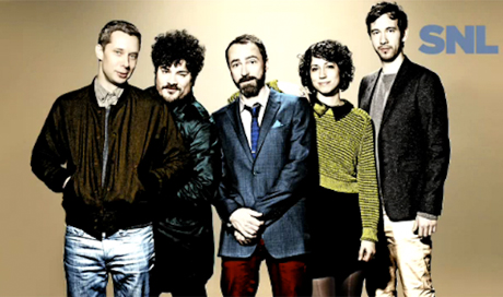 The Shins Live on 'SNL'