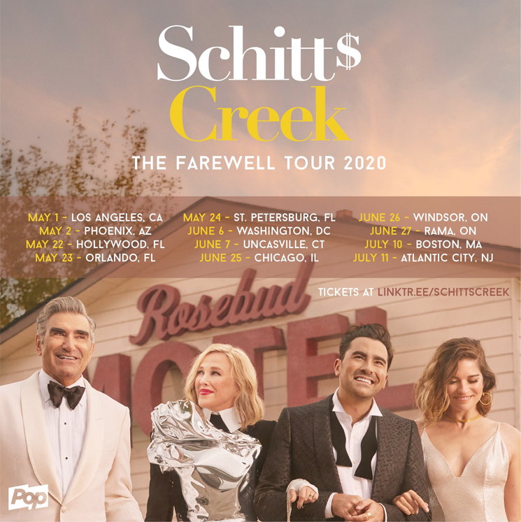 'Schitt's Creek' Is Going on a Farewell Tour