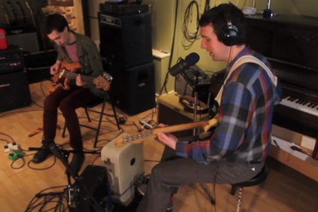 "Shotgun Jimmie ""Transistor Sister"" (live in-studio video)"
