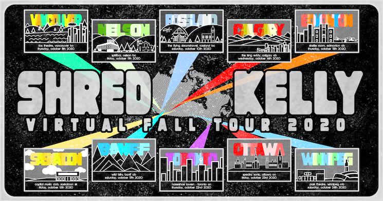Shred Kelly Plot Virtual Canadian Fall Tour