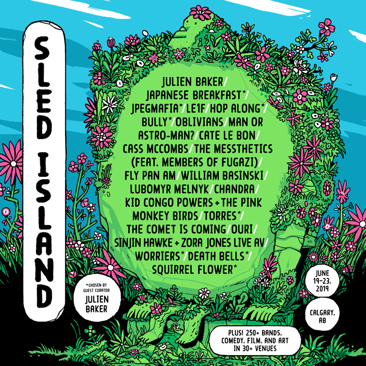 Sled Island Reveals Initial 2019 Lineup with Japanese Breakfast, JPEGMAFIA, Le1f