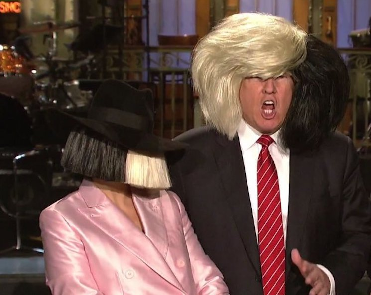 "Sia Says She Got ""Crazy Diarrhea"" After Meeting Donald Trump"