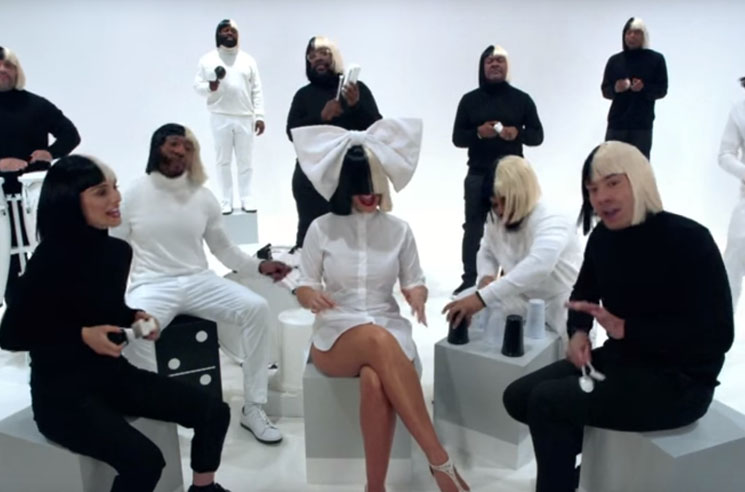 "Watch Sia Do ""Cheap Thrills"" and ""Iko Iko"" on 'The Tonight Show'"