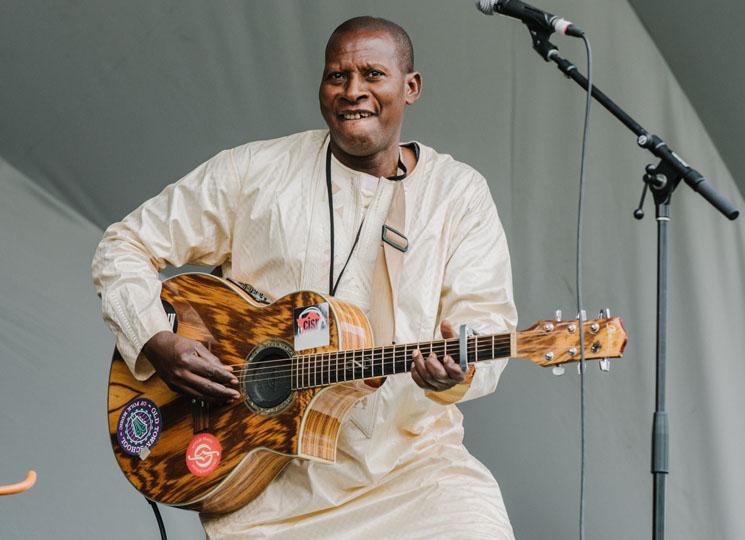 Sidi Touré Edmonton Folk Festival, Edmonton AB, August 11