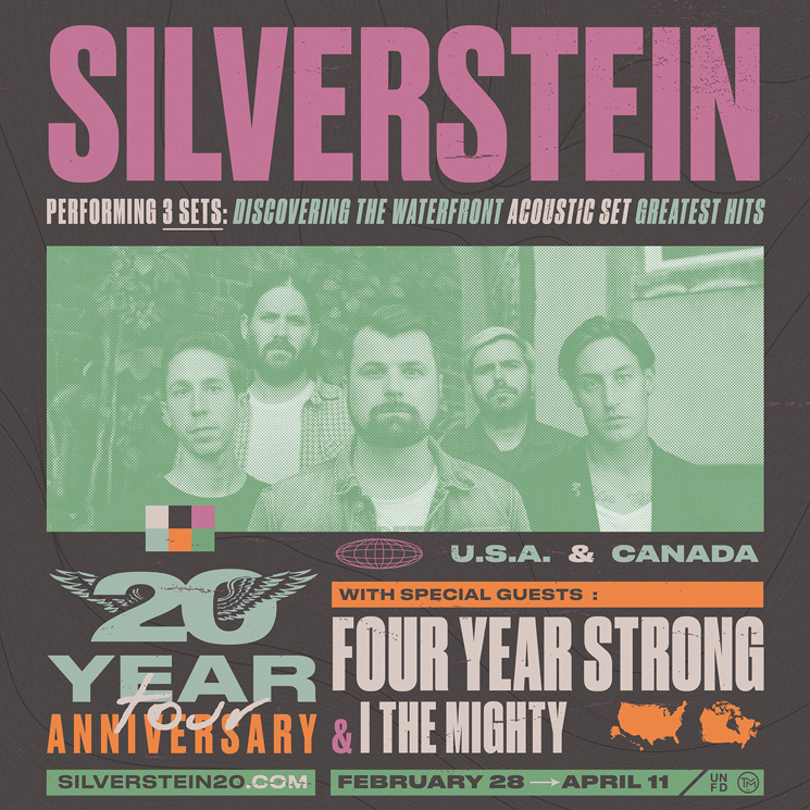 Silverstein Bring 20th Anniversary Tour to Canada