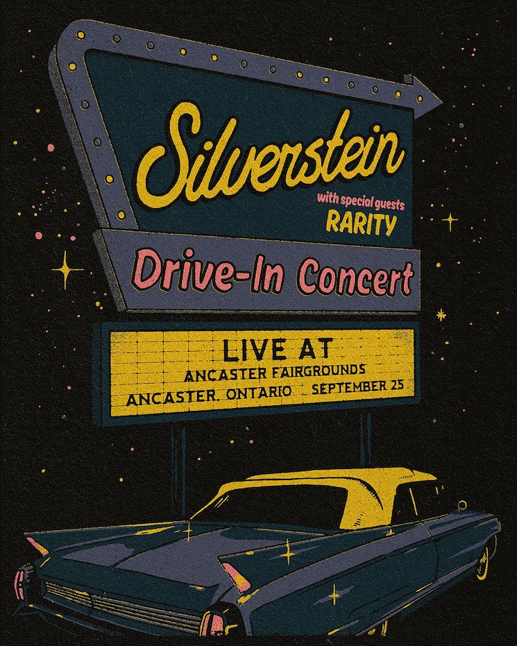 Silverstein Are Playing a Drive-In Concert in Ancaster, Ontario
