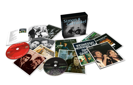 Simon & Garfunkel Treated to 'Complete Albums Collection' Box Set