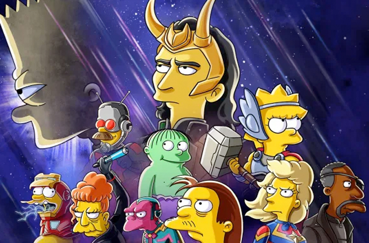 'The Simpsons' and Loki Are Doing a Crossover for Disney+