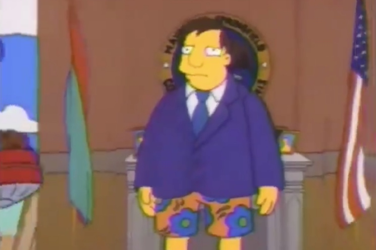 'The Simpsons' Predicted the Ontario Finance Minister's St. Barts Controversy